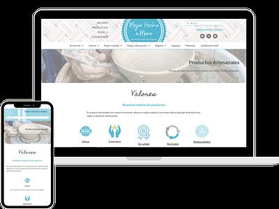mejorhechoamano.es wordpress elementor social media marketing logo website icon webdesign seo branding web design