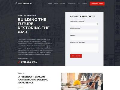 Website Design For Builders logodesign graphic design logo design branding