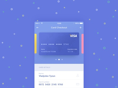 Daily UI #002 Card Checkout