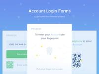 Account Login Form