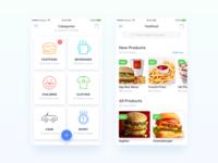 Store app concept.