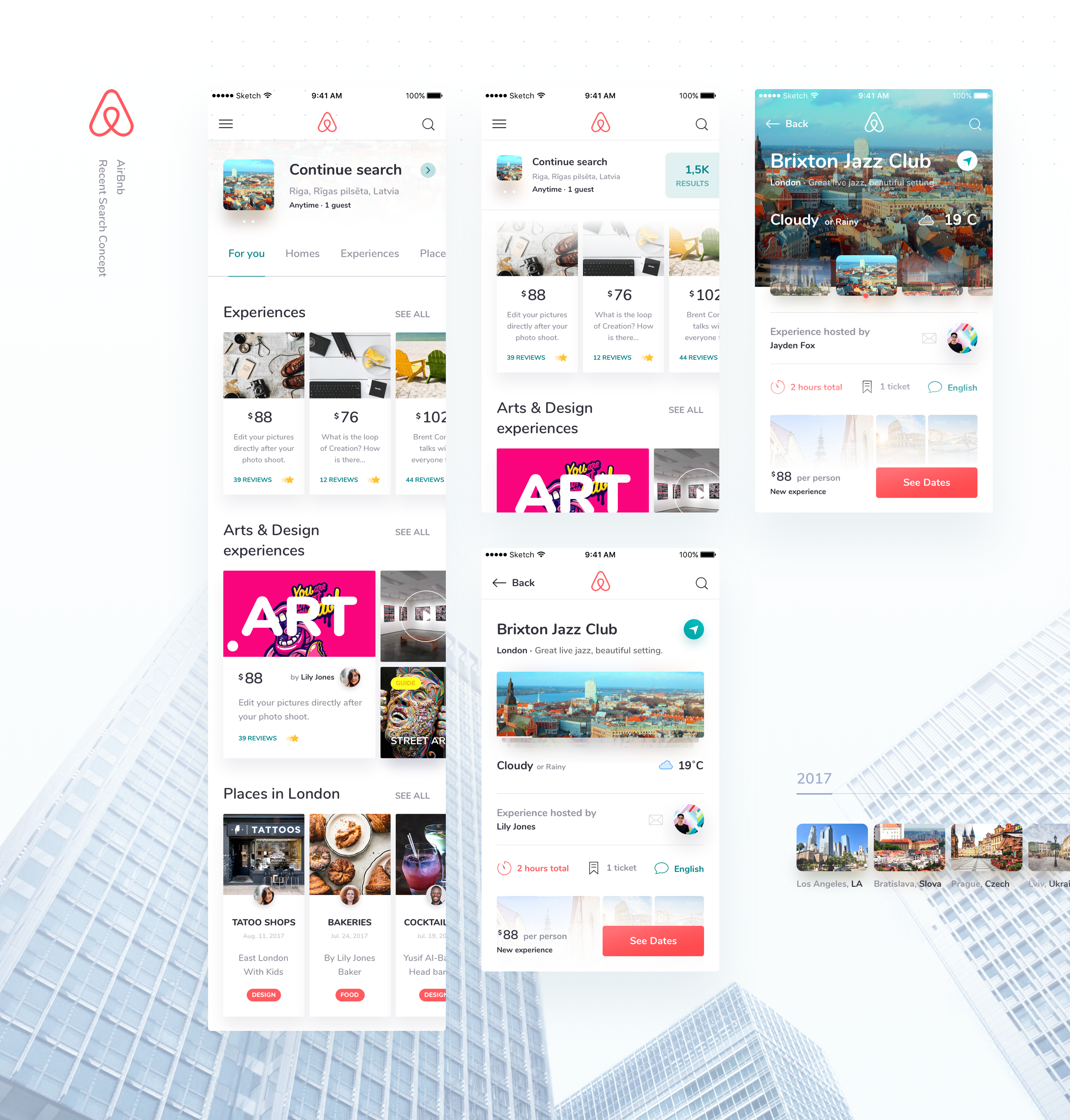 Mind Studios Projects Airbnb Ui Ux Search Results Dribbble