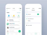 WeChat Design Concept