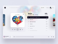 Web Music App - Player