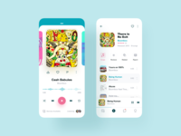 Music Player App – UI Exploration
