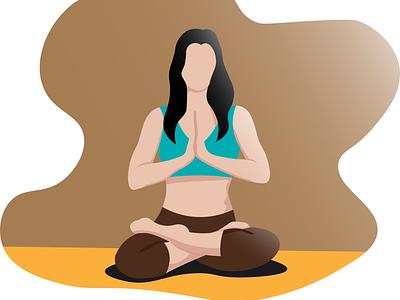 Yoga trending latest life healthy human drawing drawn illustrator yoga