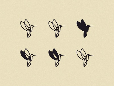 hummingbird simple custom exploration project concept hummingbird bird minimal illustration logo