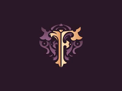 Letter F design vector logo design challenge typography luxury elegant letter decorative ornament ornamental monogram f letter f 36daysoftype08 36daysoftype