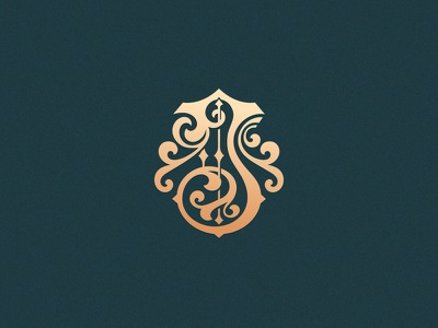 Letter J design vector designchallenge customtype custom made ornament ornamental lettering typography monogram j letter j 36daysoftype 36daysoftype08