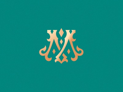 Letter M design challenge victorian ornamental vector design typography lettering custom made monogram m letter m 36daysoftype08 36dayoftype