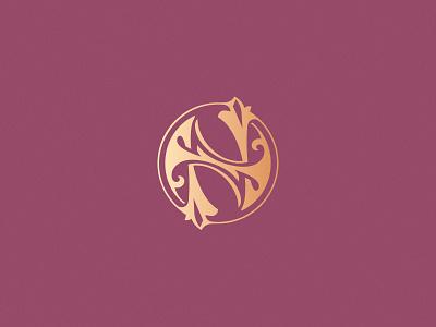 Letter N design challenge design vector new victorian ornamental decorative monogram lettering n letter n 36daysoftype08 36daysoftype