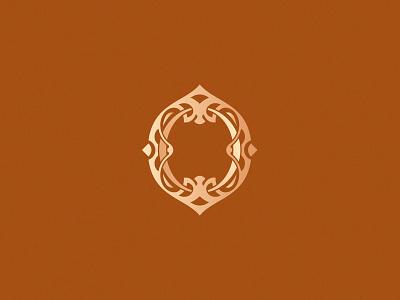 Letter O design challenge design vector orange o lettering typography decorative ornamental monogram letterlogo letter o 36daysoftype 36daysoftype08