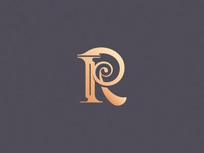 Letter R design challenge design vector typogaphy lettering custom type custom letter pillar roman logo r letter r 36daysoftype08 36daysoftype