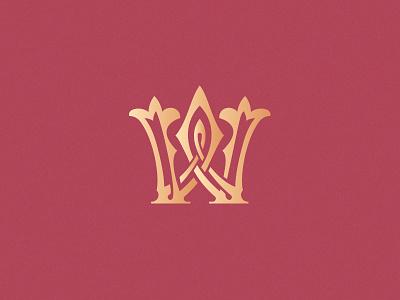 Letter W design challenge design vector typogaphy custom letter lettering victorian decorative monogram ornamental logo w letter w 36daysoftype08 36daysoftype