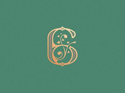 Number 6 design vector illustration simple minimal logo decorative typography lettering 6 number number 6 floral 36daysoftype08 36daysoftype