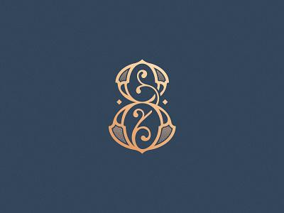 Number 8 design challenge logo design vector ornamental decorative custom made lettering typogaphy monogram eight number 8 36daysoftype 36daysoftype08