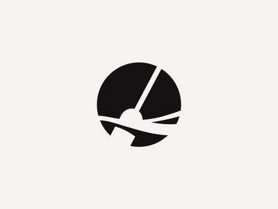 paddle vector negative space simple minimal paddling river water ocean padle logo