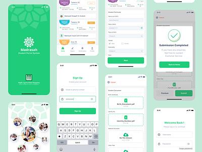 Student Portal Apps - Majlis Ugama Islam Singapura (2) app design ux ui ui ux product design