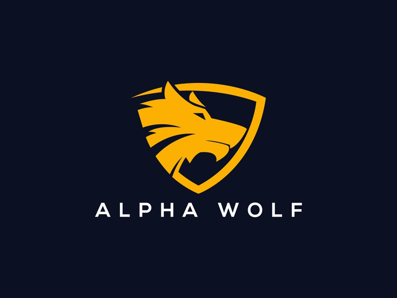 wolf security logo alpha wolf branding app strong ux ui illustration wolf security wolf logo wolves wolfpack wolf-em wolfman wolverine wolf