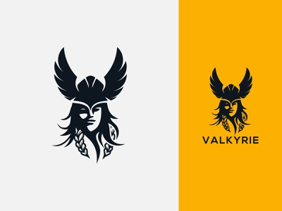 valkyrie logo valkyrie girls valkyrie girl valkyrie women valkyrie king minimal animation web game illustration ux ui vintage fantasay vikiiing wari women viking logo vikings viking valkyrie logo valkyrie