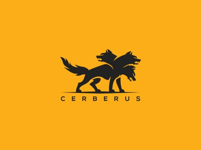 cerberrus logo animation web game branding app strong illustration ui ux wolf head cerberrus wolf logo cerberrus wolf cerberrus vector logo cerberrus design cerberrus logo cerberrus