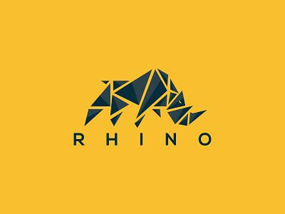 Rhino Logo game app illustration ui ux rhino digital rhino digital rhino ceative logo rhino ceative logo rhino vector logo rhinos rhino logo rhino3d rhinoceros rhino