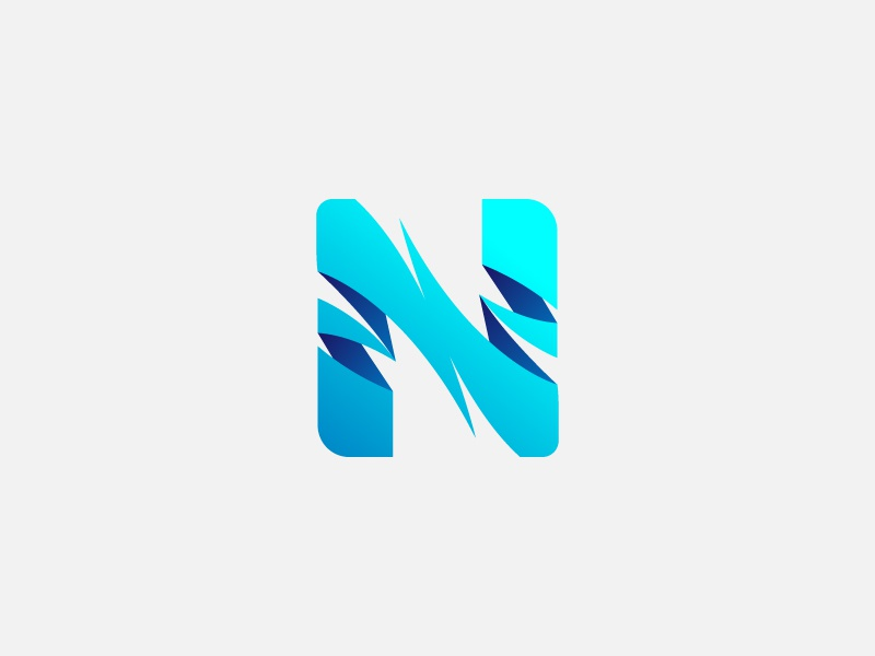 Letter N Logo by NAVEED - Dribbble