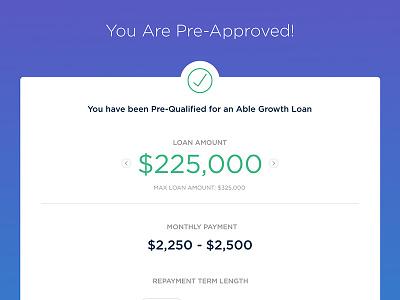 Loan Pre-Approval offer approval finance loan