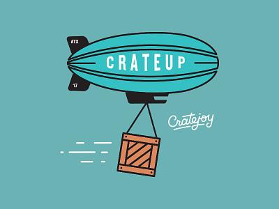 Crateup Blimp subscriptions cratejoy meetup