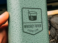 Whiskey River Canoe Club - Stanley Flask