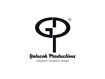 Monogram Logo for Galecok Production Muslim Wear logo digitizing logodesign logo logo design logotype monograms monogram letter mark monogram design monogram logo monogram
