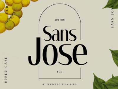 Sans jose font classic classic font typeface typography display font webfont type font