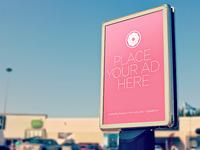 FREE PSD Outdoor Billboard ad Mock up