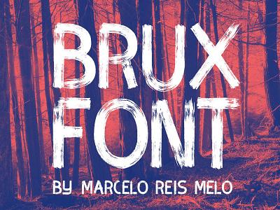 Brux Brush font freebie freebies font freefont type webfont brush handwrite handmade free