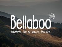 Bellaboo PRO font