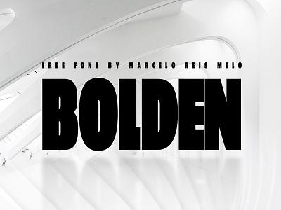 Bolden FREE FONT type font