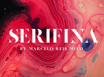 SERIFINA FREE FONT serif design webfont typography freebie freebies freefont type font