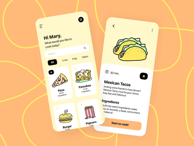 Munchies Illustrations for UI Design system freebies free illustrator illustrations/ui illustrations ux ui illustration design illustration