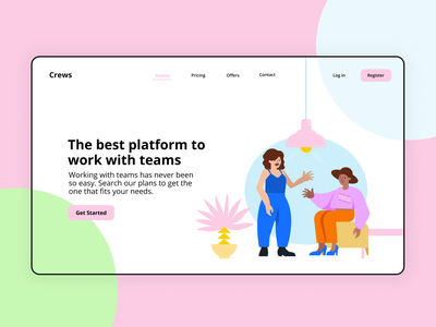'Open Figures' Illustrations for Web Design system freebies free illustrator illustrations/ui illustration design ux ui illustrations illustration