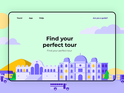 'Cityscapes' illustrations Web Design system free freebies illustrator illustrations/ui illustration design ux ui illustrations illustration