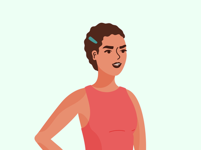 Woman Power for UI system free freebies illustrator illustrations/ui ui illustration design ux illustrations illustration