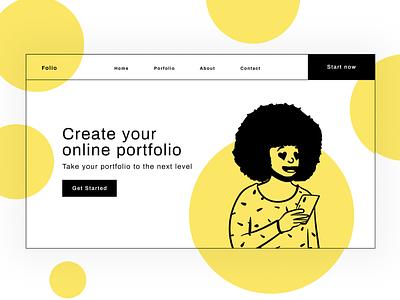 Dope Illustrations for Portfolios system free freebies illustrator illustrations/ui illustration design ux ui illustrations illustration
