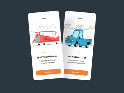 Templates for Car Rental Apps branding logo design illustrator illustrations/ui illustration design ux ui illustrations illustration
