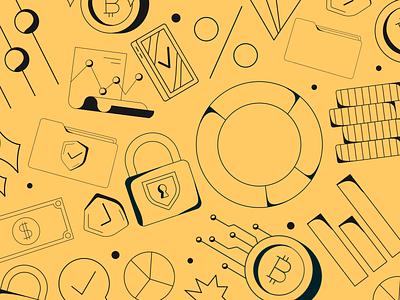 Bitdoodles from Currency Crush branding logo design illustrator illustrations/ui illustration design ux illustrations ui illustration