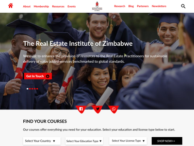 The Real Estate Institute of Zim design design