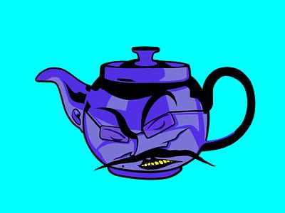 """Damn Çaynik"" procreate art illustration character design"