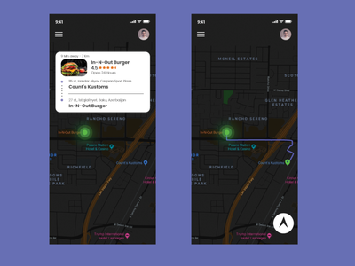 Daily UI 20 Location tracker design ux ui dailyui adobe xd adobe photoshop