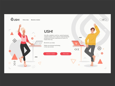 Sport and Yoga creative sport yoga background people concept character design vector art illustration