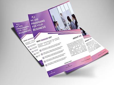 Corporate flyer vector social media design branding poster add flyers banner design
