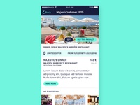 iOS Night Events App / Offer page